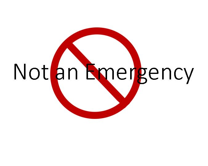 Not Emergency